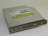 Slim NB DVD-RW Drive HP GSA-T50L for HP Pavilion DV5 Silver, SATA