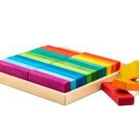 Marc Toys деревянная игрушка блоки 24 buc