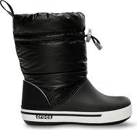Kids' Crocband™ Iridescent Gust Boot Black / White