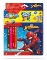 Цветные карандаши Jumbo - Colorino Disney SpiderMan