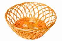 Хлебница плетеная круглая большая
