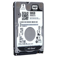 "Жесткий диск 2.5"" HDD 500GB Western Digital ""Black (WD5000LPLX)"""