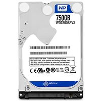 "2.5"" HDD 750Gb  Western Digital WD7500BPVX  Blue™, 5400rpm, 8Mb,  AF, 9.5mm, SATAIII, FR"