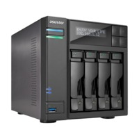 "ASUSTOR AS7004T, 3.5"" or 2.5"" SATA3 CPU 3.5GHz Ram 2GB USB3.0"