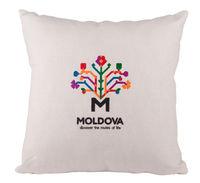 купить Декоративная эко подушка Молдова – 40x40cm в Кишинёве