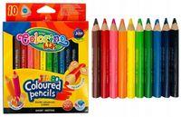 Цветные карандаши 10 шт. Jumbo Colorino