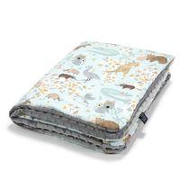 Одеялко La Millou Dundee & Friends Blue / Grey 100x80 см