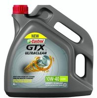Моторное масло Castrol GTX Ultraclean 10W-40 A3/B4 4L