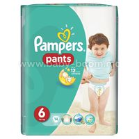 Pampers Pants 14 (6) 4356