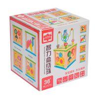 Развивающий куб-лабиринт  код 126685