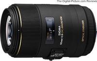 Prime Lens Sigma AF 105mm f/2.8 MACRO EX DG OS HSM F/Can