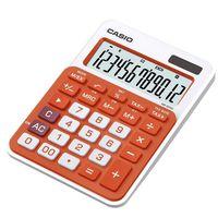 CASIO Калькулятор CASIO MS-20NC, 12-разрядный, оранжевый