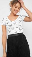 Майка ORSAY Белый с бабочками 160163 orsay