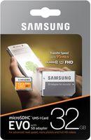 Samsung EVO Plus 32GB MicroSD (Class 10) +SD adapter,