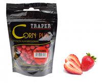 Aluat pufat Traper Corn Puff 4mm 20g - Truskawka (căpșuni)