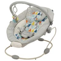 Baby Mix LCP-BR245 LT GR Шезлонг с музыкой и вибрацией