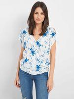 Блуза ORSAY Белый с принтом