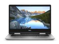 """DELL Inspiron 14 5000 Silver (5491) 2-in-1 Tablet PC, 14.0"""" IPS TOUCH FHD (Intel® Core™ i5-10210U, 4xCore, 1.6-4.2GHz, 8GB (1x8) DDR4 RAM, 256GB M.2 PCIe SSD, Intel® UHD Graphics 620,CardReader,WiFi-AC/BT4.2, 3cell,720p HD Webcam,RUS, W10HE64,1.67kg)"""