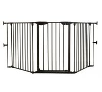 """Ворота безопасности 3 секции Dreambaby """"Newport Adapta Gate"""" (85,5 - 210 см) черный"""