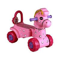 """Каталка детская """"Лошадка"""" (розовый) M3896"""