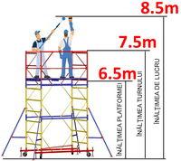 cumpără Turn modular mobil ВСР (1,2x2,0) 1+5 în Chișinău