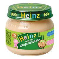 Heinz пюре нежная крольчатинка 6+мес. 80г