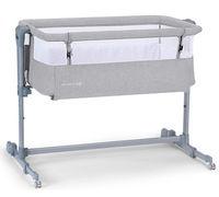 Кроватка co-sleeper Kinderkraft Neste Air Grey