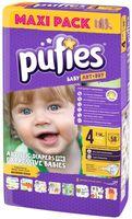 Pufies подгузники Baby ArtDry 4, 7-14 кг. 58шт