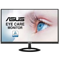 "23.0"" ASUS  ""VZ239HE"", Black (IPS, 1920x1080, 5ms, 250cd, LED80M:1, D-Sub+HDMI) (23.0"" IPS W-LED, 1920x1080 Full-HD, 0.265mm, 5ms GtG, 250 cd/m², DCR 80 Mln:1 (1000:1), 16.7M Colors, 178°/178° @C/R>10, HDMI + D-Sub, External Power Adapter, Fixed Stand (Tilt -5/+22°), Blue Light Filter & Flicker free,   Ultra-slim 7mm profile, Frameless, Black)"