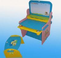 Babyland стульчик для кормления и парта JU-885