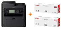 MFD Canon i-Sensys MF237w, laser, Printer/Scanner/Copier/Fax/Wi-Fi + CRG737 x 2