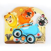 Игрушка деревянная Hape & Baby Einstein Friendly Safari Faces™ Puzzle