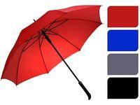 """Зонт-трость """"Однотонный"""" D105cm автомат, прямая ручка, 4цвет"""