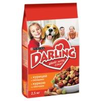 DARLING Dog (для собак,  с курицей), 10 кг