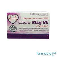 Chela-Mag B6 Cardio (Mg,Vit B6,Vit B1,Vit B12,Ac.folic) comp. N30 Olimp