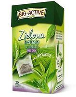 Ceai verde Big Active with Bergamot, 20 plicuri