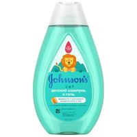 Johnson`s Baby шампунь гель, 2 в 1, 300 мл