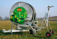 Передвижная дождевальная машина с барабаном для полива полей - Марани