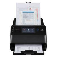 "Document Scanner Canon DR-S150, WiFi, ADF (60 sheets - 50-80g/m2), CIS 1 Line Sensor, 4.3"" LCD Front/ Back/ Duplex, B&W 45ppm/90ipm - colour 45ppm/90ipm, 600x600dpi, 24-bit colour, Daily Duty Cycle: 4000 scans/day, USB 3.2 Gen1x1/USB 2.0, Gb LAN"