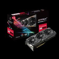 VGA card PCI-E ASUS STRIX-RX580-O8G-GAMING