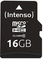 Сard de memorie Intenso MicroSD 16GB Class 10