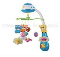 Baby Mix PL-408930 BLUE Музыкальная карусель