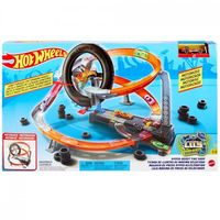 Mattel Hot Wheels Игровой набор Гонки в шиномонтажной