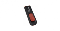 16 ГБ USB 2.0 Флеш-накопитель Adata C008, Black/Red