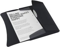 Esselte Папка на резинке ESSELTE Vivida А4 пластиковая, черная