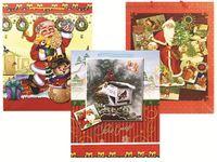 Пакет подарочный 32X26X10cm рождественский рисунок