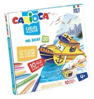 Carioca Create&Color Mr.Boat 3D (42905)