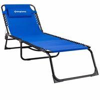 купить Раскладушка для туризма и отдыха KC3913 BLUE (1011) в Кишинёве