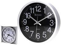 Часы настенные круглые D25cm, разных цветов