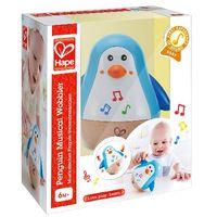 Hape Деревянная игрушка музыкальный Пингвин Hеваляшка